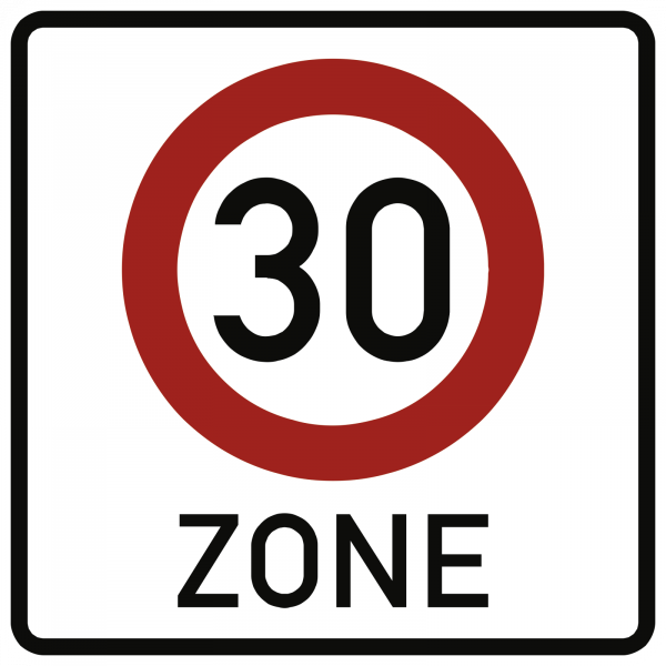 Zone 30 VZ 274.1-50 aus Thermoplastik