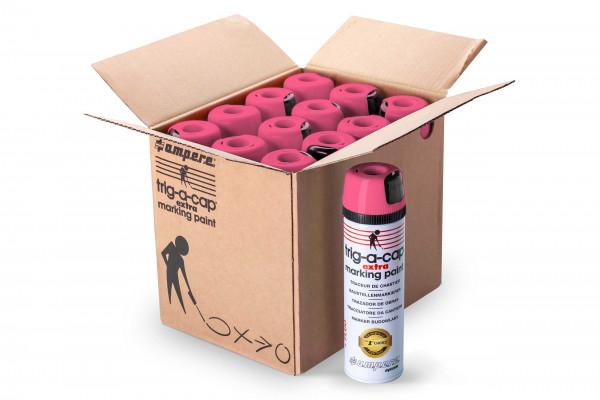 Baustellenmarkierspray trig-a-cap ® extra - 12 Dosen/Karton