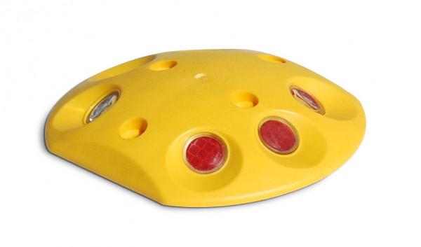 Markierungsknopf rund gelb