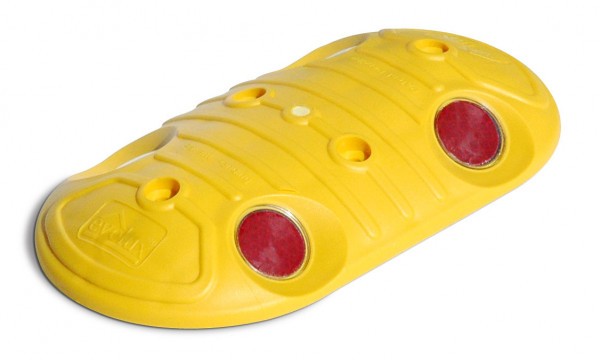 Markierungsnagel oval gelb