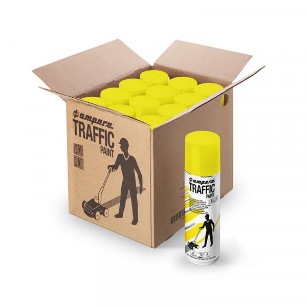 Bodenmarkierungsfarbe Traffic Paint® - 12 Dosen/Karton