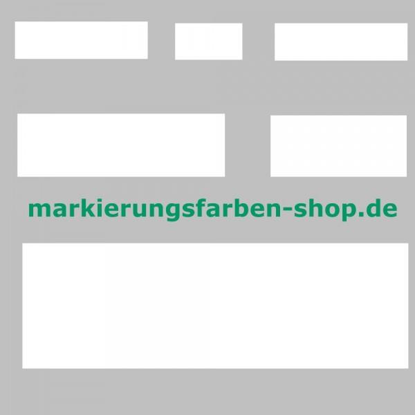 Markierungsinien aus Thermoplastik 500 mm